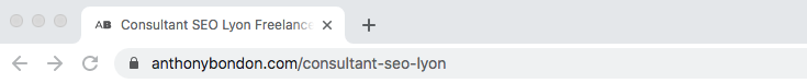title html navigateur web